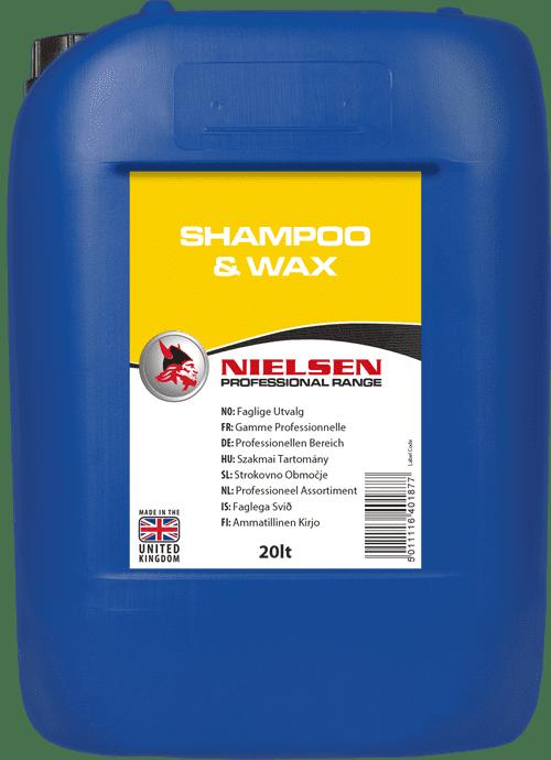 Shampoo Wax 20L